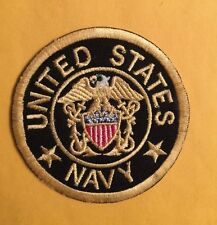 UNITED STATES MILITARY SEAL  NAVY  PATCH IRON ON SEW ON US SELLER FREE SHIPPING