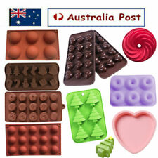3D Silicone Chocolate Mold Snowman Socks Trees Silicone Cake Candy Cookies Mould