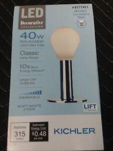 Kichler LED Decorative Classic 40w Lights White
