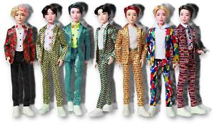 BTS JIN V RM JIMIN J-HOPE SUGA JUNGKOOK Idol Doll Figures