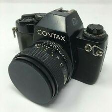 Contax 159MM 35mm SLR Film Camera Kyocera Japan w/55mm lens