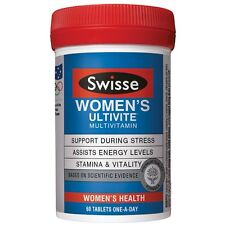 Swisse Women's Ultivite F1 (60) stamina well-being nervous system healthy energy