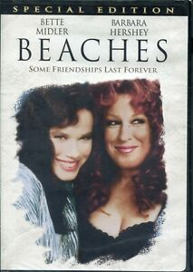 BEACHES Brand New Sealed DVD Special Edition Bette Midler NIB