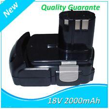 18V Li-ion 2,0Ah Batterie Pour Hitachi BCL 1815 EBM 1830 DV18DMR C18DLX DH18DL
