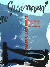 Josep lissavetzky-Galeria llluis heras-Girona 1990-original-farblithographie