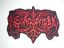 NECROPHOBIC BLACK METAL IRON ON EMBROIDERED PATCH