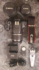 Canon EOS Rebel T3i/600D 18.0MP DSLR Camera-18-55mm STM,75-300mm &35-80mm lenses