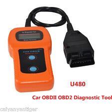 New U480 OBDII OBD2 Scanner Code Reader ELM327 Car Fault Scanner Diagnostic Tool