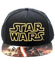 Star Wars The Force Awakens Men's Snapback Cap Hat T-Shirt Shirt