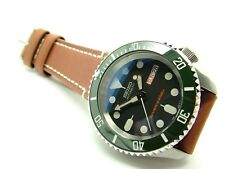 SEIKO DIVER'S Automatic Submariner modificadas SKX007 7S26 'Super Hulk'