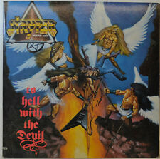 "STRYPER - TO HELL WITH THE DEVIL - ENIGMA PJAS 73237 - 12"" LP (Y558)"