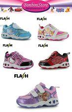 Scarpa con luci  bambina minnie frozen hello kitty principessa originali scarpe