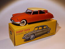 Citroen DS 19 rouge / orange - ref 24 CP / C au 1/43 de dinky toys atlas