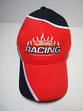 Head Shots KC Caps Old Wisconsin RACING Black Red Baseball Hat Adjustable Back