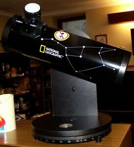 NATIONAL GEOGRAPHIC DOBSON TELESCOPE 76/350 IN VGC