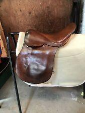 """14.5"""" English Pony Saddle Wide Fit"""