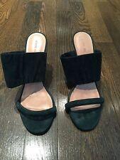 Celine Dark Green Suede Heels Size 40