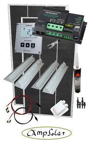 MPPT Solaranlage Wohnmobil Set 200 Watt Votronic MPP250  Solarcomputer S