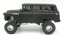 SO REAL CONCEPTS PRIMER BLACK 1957 CHEVROLET SUBURBAN 1:24 SCALE MODEL 1 OF 976