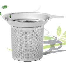 Stainless Steel Mesh Tea Infuser Metal Cup Strainer Loose Tea Leaf Filter Sieve