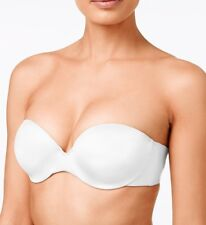 Maidenform Bra Comfort Devotion Custom Lift Strapless White Size 38D