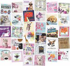 30 Different Square Birthdays Greeting Card Assortment Multi Pack