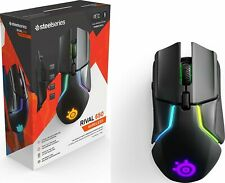 SteelSeries 62456 Rival 650 Wireless Optical Gaming Mouse with RGB Lighting, New