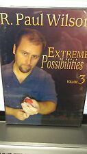 Extreme Possibilities Volume 3 Paul Wilson Dvd Magic Tricks