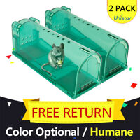 Humane Live Animal Trap Cage Possum for Rat Mouse Catcher Tool AU Indoor Outdoor