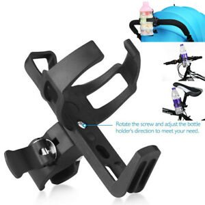 360° Rotatable Bike Bicycle Bottle Cage Handlebar Mount Drink Water Cup Holder