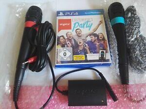 PS 4 SingStar: Ultimate Party Neu!!! + original Sony Mikrofone, Neu!!