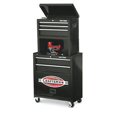 Craftsman 5 Drawer Case Cabinet Garage Storage Riser Tool Box Chest DIY Casters