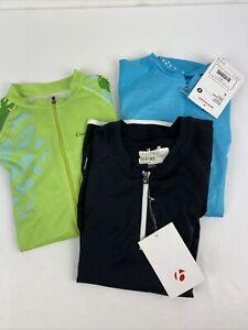Lot 3 Bike Cycling Jersey Shirt Maillot Cyclism Sport Bontrager Size S $65each