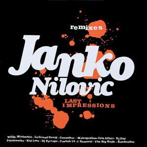Janko Nilovic – Last Impressions - Remixes    New  cd     in seal