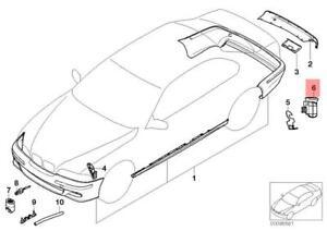 Genuine BMW Support Fender Left E46 316Ci 316i 1.6 1.9 318Ci 51128195321