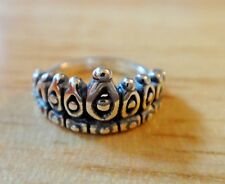 Sterling Silver 14mm Prom Homecoming Princess Queen Tiara Crown Charm