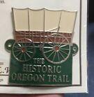 Historic Oregon Trail Hiking Staff Stick Medallion NEW Goes On Walking Stick