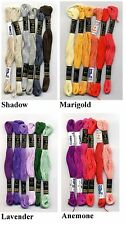 Six Anchor Cotton Cross Stitch Thread Floss