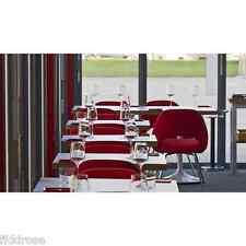 Mid Century Modern Red Velvet Saarinen Executive Chair Replica