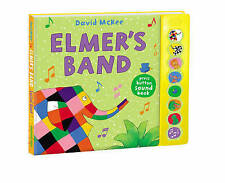 Elmer's Band: un suono press-button LIBRO (Elmer SOUND book) Nuovo Libro