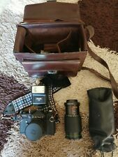 ZENIT CAMERA AND CASE AND SPECIAL LENSE TTL ZENITs
