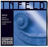 Thomastik-Infeld IB100 Blue Violin Strings, Complete Set, IB100, 4/4 Size,...