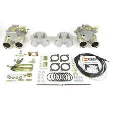 GENUINE new twin Weber 45DCOE x 2 Peugeot 205 309 1.6 1.9 8v GTI carb kit
