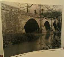 1818 Somerfield Pa. Great Crossings Bridge Somerset Yough Dam Flooded Ghost Town