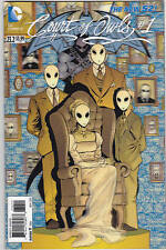 BATMAN AND ROBIN 23.2 #COURT OF OWLS  3D COVER NEW 52 FIRST PRINT