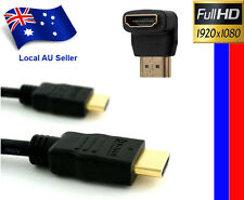 2M 6FT HDMI Cable Full HD HDTV Ethernet 1080p PS3&HDMI M to F 90 Degree Adapter