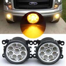 2x LED Front Fog Lights Lamps DRL For Ford Transit MK6 MK7