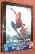 Spider-Man (2002) Limited Edition with Lenticular Magnet Steelbook Blu-ray