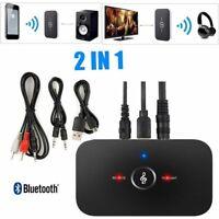 Hifi Sans Fil Bluetooth Audio Récepteur Transmetteur 3.5mm Adaptateur TV MP3 PC