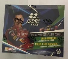2005 Press Pass Stealth Factory Sealed NASCAR Racing Hobby Edition Box